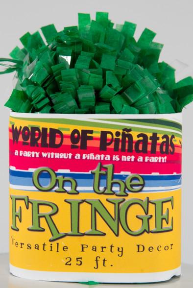 Dark Green Tissue Garland Festooning