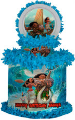 Moana birthday party pinata
