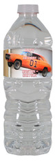 The Dukes of Hazzard water bottle labels