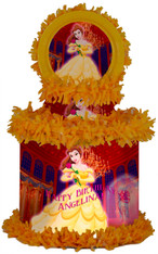 Belle Beauty and the Beast pinata