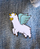 Llamacorn Enamel Pin