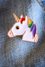 Unicorn Rainbow Enamel Pin