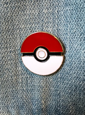 Pokeball Enamel Pin