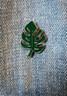 Monstera Leaf Enamel Pin