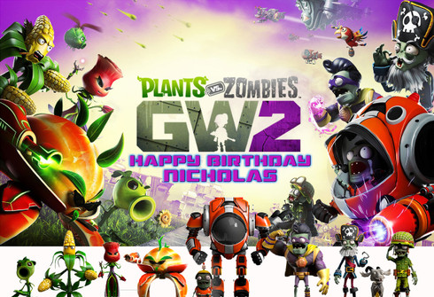 High Quality Plants Vs Zombies Garden Warfare 2 Poster Idea