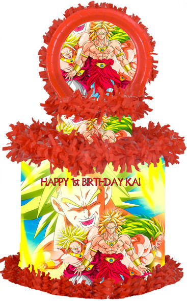 Dragon Ball Z Broly pinata