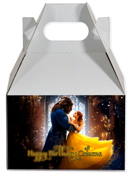 Beauty and the Beast 2017 movie gable box