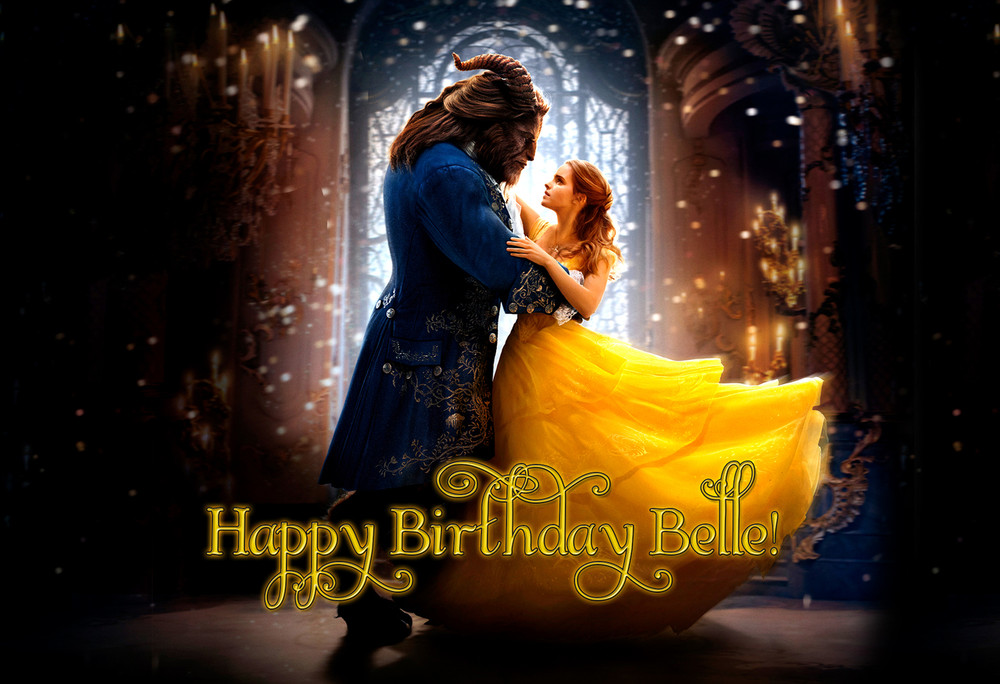 2017 Movie Posters: Beauty And The Beast 2017 Movie Personalized Poster