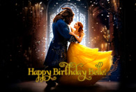 Beauty and the Beast 2017 movie poster