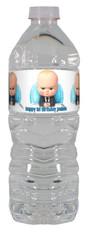 The Boss Baby water bottle labels