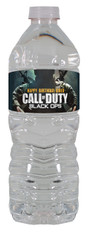 Call of Duty Black Ops water bottle labels