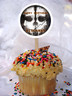 Call of Duty Ghost cupcake toppers
