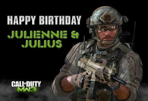Call of Duty MW3 poster