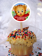Daniel Tiger's Neighborhood cupcake toppers