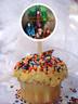 Descendants cupcake toppers