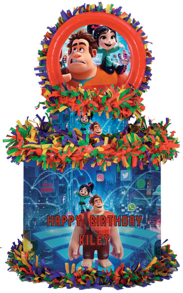 Wreck-It Ralph Breaks the Internet party pinata