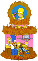 The Simpsons party pinata