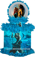 Aquaman party pinata