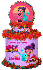 Abby Hatcher party pinata