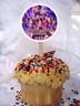 Avengers Endgame cupcake topper