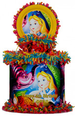 Alice in Wonderland Personalized Pinata