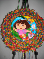 Dora II Pull String Pinata