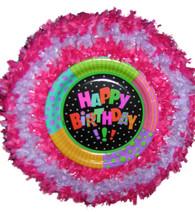 Happy birthday fun pull pinata