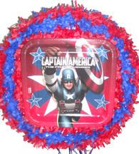 Captain America Pull String Pinata