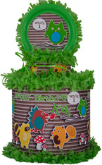 Woodland Creatures Personalized Pinata