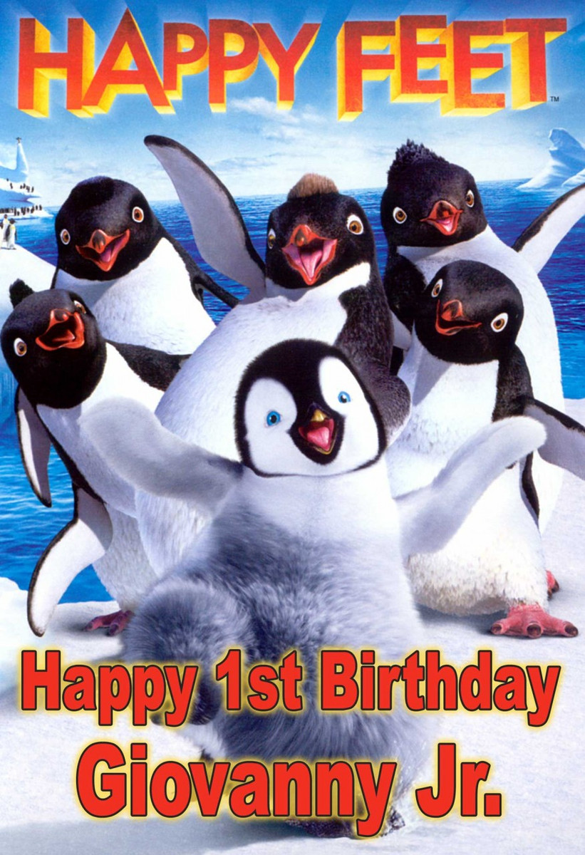 Happy Feet Poster Click To Enlarge