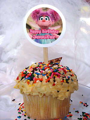 Abby Cadabby Cupcake Topper
