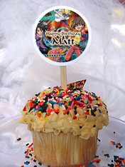 Bakugan Personalized Cupcake Toppers