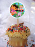 Dora The Explorer Personalized Cupcake Toppers
