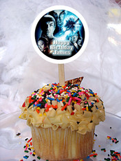 Star Trek Personalized Cupcake Toppers