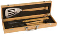 Grillin' time bamboo BBQ tool set 4127-99