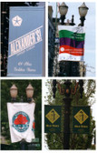 Light Pole Boulevard  Banners