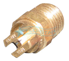 "Brass 1/4"" V-Jet Nozzle"