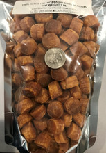 Japanese Hokkaido Dried Scallop Conpoy Size SA- Grade 1 Gold (size comparison to a quarter)