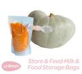 Store & Feed Breast Milk & Baby Food Storage Bags