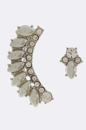 Pearl Ear Crawler Set