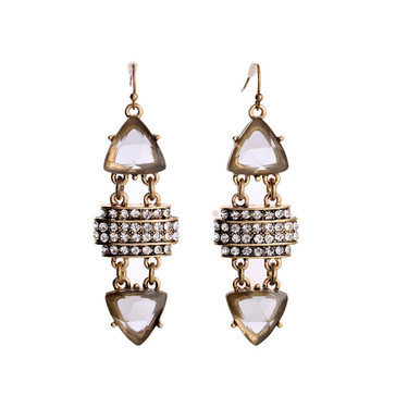 Chandelier Statement Drop Earrings