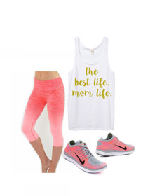 1108 Boutique Mom Life Sweatshirt Workout Graphic Tank Top