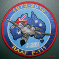 RAAF F111 Uniform Patch 1973 - 2010