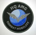 AMG Round Uniform Patch