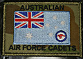 CADETS RAAF ENSIGN on DPCU 75mm x 55mm