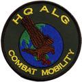HQ ALG Combat Mobility Round Uniform Patch