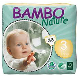 Bambo Nature midi eco nappies size 3