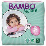 Bambo Nature XL eco nappies size 6