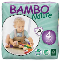 Bambo Nature Maxi Nappies - size 4