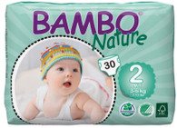Bambo Nature Mini Nappies -  3 to 6 kgs